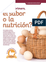 Estudio sobre la calidad del huevo mexicano
