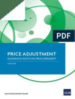 Procurement Price Adjustment