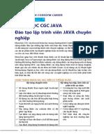 CodeGym Hà Nội- Giới Thiệu Khóa Học Java
