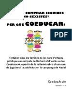 Guia Per Families Sobre Joguines No Sexistes