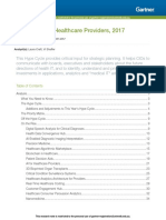 Hype Cycle for Healthcare Pr 314257