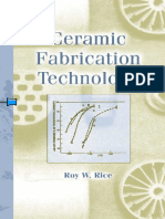 (Materials Engineering 20) Roy W. Rice-Ceramic Fabrication Technology-Marcel Dekker (2003)