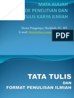 TTKI-1 Metodologi penelitian