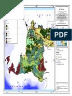 Peta Pola RTRW Provinsi Banten 2010-2030