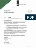 2018 11 30 - VERLENGING 207607 Ontvangstbevestiging en Verdaging Van Uw Wob-Verzoek N. Cramm