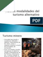 Nuevas Modalidades Del Turismo Alternativo