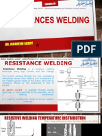 Lecture 10Resistances Welding