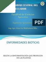 Clase de Fitopatología General