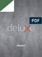 Catalogo Deluxe AVANT 2018