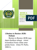 MODEL & TRANSAKSI E-COMERCE.pptx