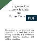Manganese Ore Presentation