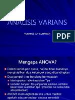 2 Analisis Varians biostatistik