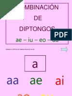 COMBINACIÓN DE DIPTONGOS