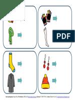 Partes Del Cuerpo-ropa