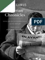 Camus, Albert - Algerian Chronicles (Harvard, 2013).pdf