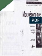 exercices corrigé Macroéconomie
