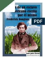 Frederick Douglass, Vida de Un Esclavo Americano