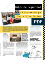 Chemmatters Dec2015 Spanish Safety Data Sheets