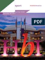 Hanes 2017 Annual Report