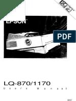 Epson LQ870/1170
