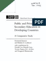 Public Private Secondary