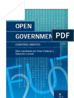 Open Government - Gobierno Abierto