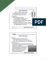 Hybrids rocket motor