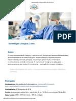 Instrumentação Cirúrgica (180h) _ Escola Da Paz