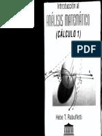 Analisis Matematico (Calculo 1) - Rabuffetti
