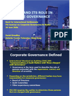 Pertemuan 13 - Auditing and Its Role in CG