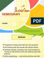 Epidemiologi Dan Demografi