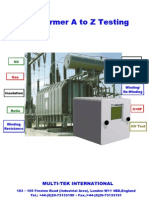 Transformer a to Z Testing-Ready Catalogue