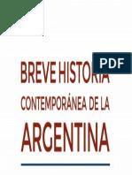 Breve Historia Contemporanea De La Argentina 1916-2010 3ra. Edicion Romero.pdf