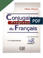 Conjugaison Progressive Du Francais Avec 250 Exercices Debutant