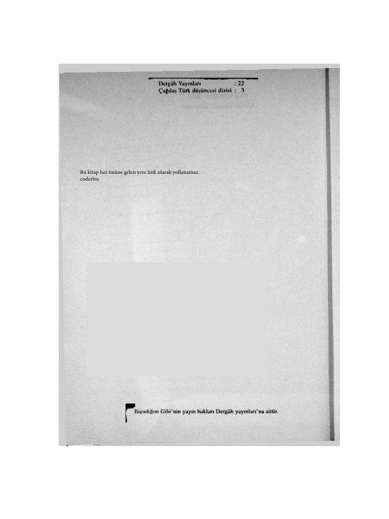 14840ff707633 Ahmet Hamdi Tanpinar - Yasadigim Gibi.pdf