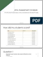 google form analysis