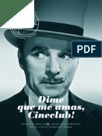 Dime Que Me Amas, Cineclub! - Junio 2018