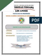 Metodologia de Investigacion Lineamientos