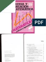29- Prensa y Educacion Matematica
