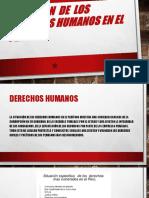 Violación de Los Derechos Humanos en El Perú