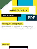shakespeare lesson