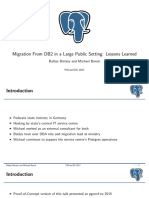 Db2 Postgresql Migration 169