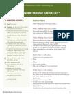 Understanding Lab Values