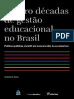 Quatro décadas de gestão educacional no Brasil.pdf