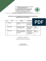 Bukti Pelaksanaan Rekomendasi Terhadap Hasil Temuan Dan Rekomendasi Audit Internal