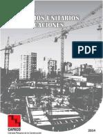 APU Edificaciones CAPECO