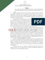 Pedido de indagatoria Bausili, Caputo y Quintana