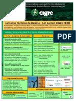 Evento CIGRE Peru 2018