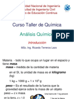 Analisis quimico