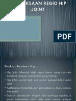 Pemeriksaan Spesifik Regio Hip Joint